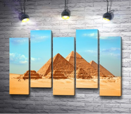 Древние пирамиды Гиза, Египет