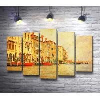 Гранд-канал. Венеция. Винтаж
