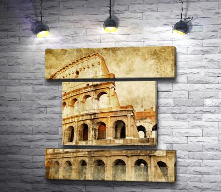 Римский Колизей, Рим, Италия, Винтаж
