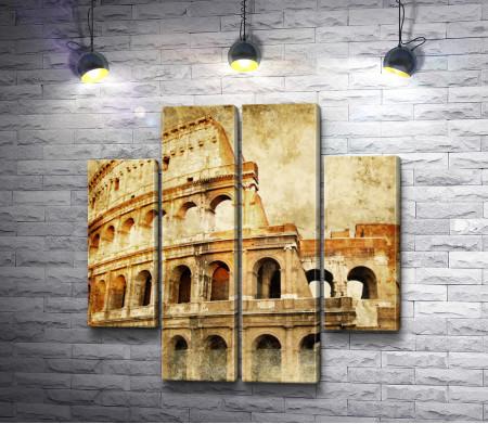 Римский Колизей. Винтаж