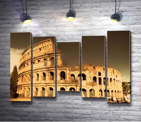 Вечерний Колизей, Италия