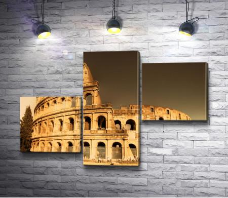 Вечерний Колизей, Рим, Италия