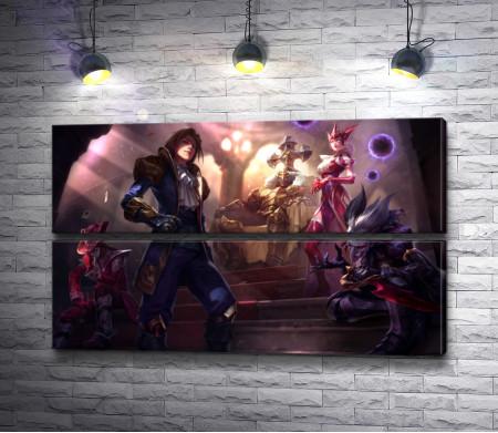 Воины из игры Лига Легенд (League of Legends)