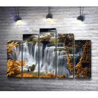 Каскад водопадов,  Плитвицкие озера, Хорватия
