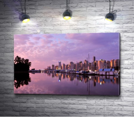 Закат в Ванкувере, Канада