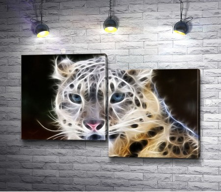 Белый леопард