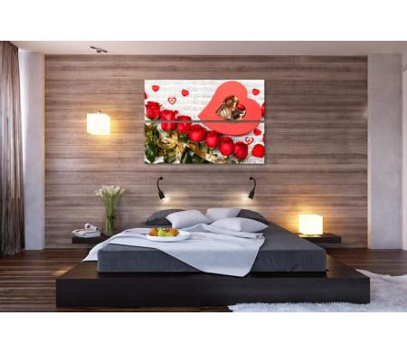 Ноты любви, сладости и розы