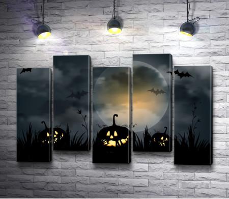 Страшная ночь хэллоуина