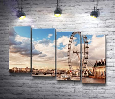 Обзорное колесо в Лондоне