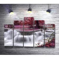 Водопад в розовой пуще
