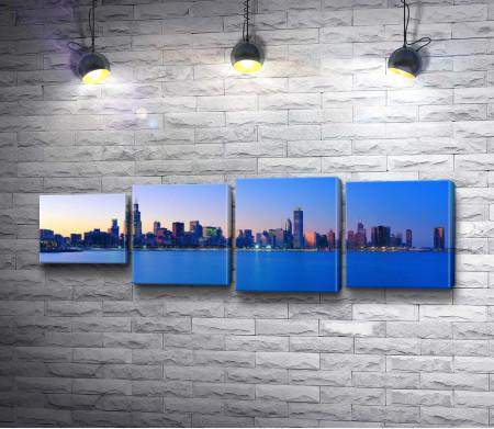 Панорамный вид Чикаго