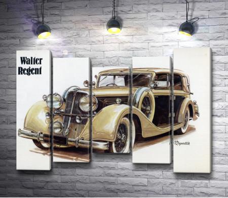 Ретро автомобиль Walter Regen