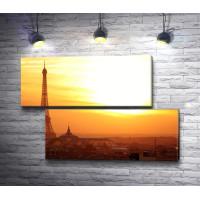 Эйфелева башня. Рассвет над Парижем