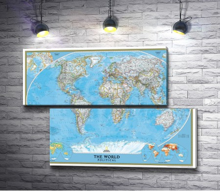 Карта мира - политическая