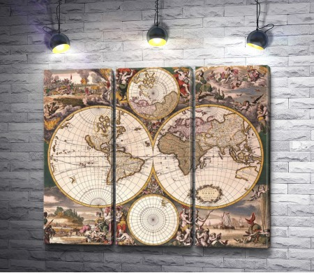 Карта старого мира