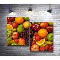 Сочные летние фрукты
