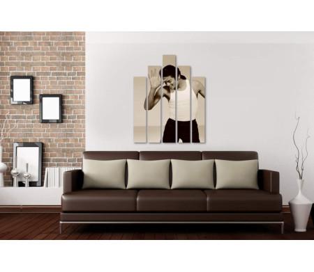 Майкл Джексон. Черно-белое фото
