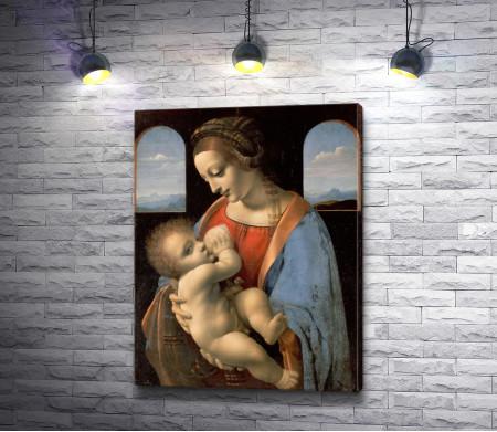 """Леонардо да Винчи """"Мадонна Литта"""""""