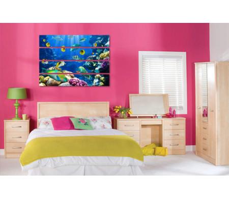 Коралловые рифы с рыбками