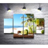 Мохито и солнечный пляж