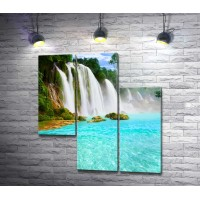 Каскадные водопады