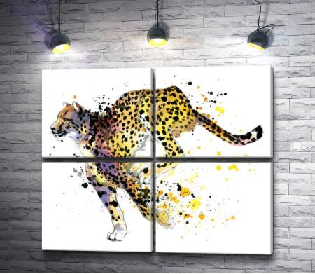 Бегущий гепард