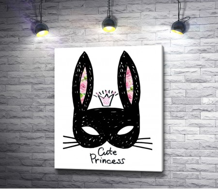 Маска принцессы кролика