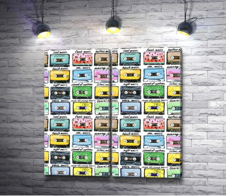 Музыкальные записи на кассетах