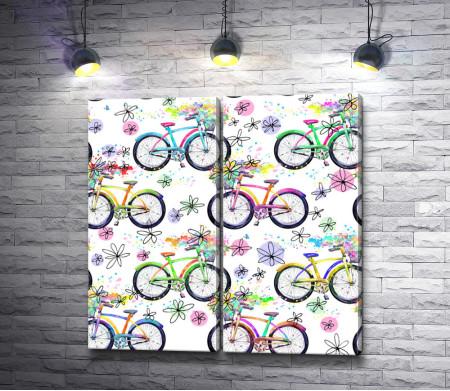 Велосипеды и весна
