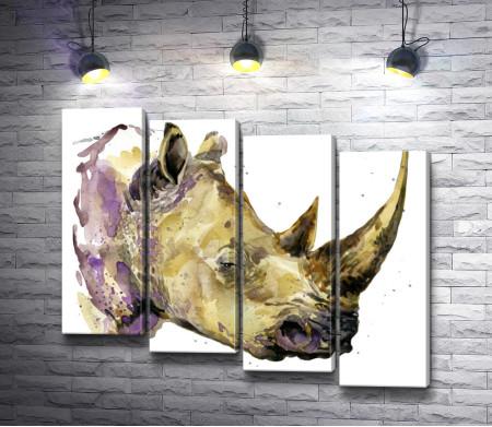 Задумчивый носорог