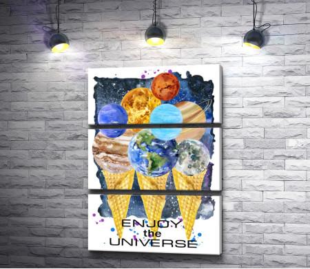 Планеты-мороженое. Enjoy the universe
