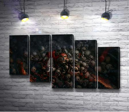 """Черепа и шлемы. """"Warhammer"""""""
