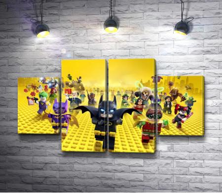 Лего Бэтмен и его друзья