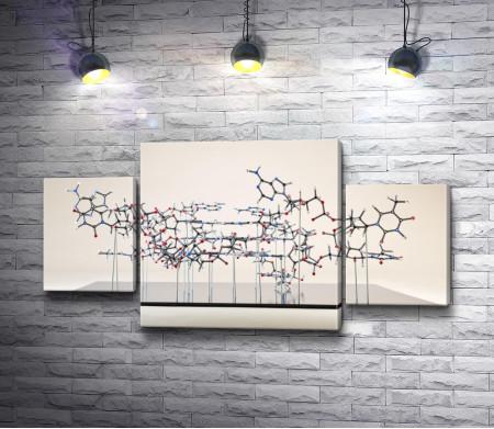 Молекулярная схема-макет