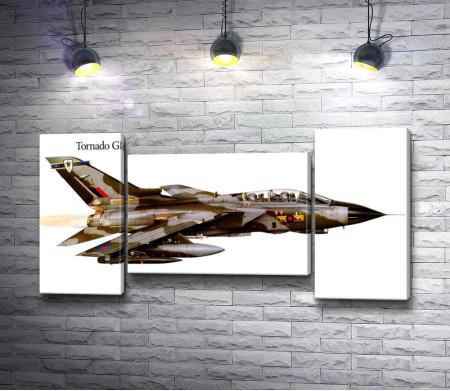 Военный самолет Tornado