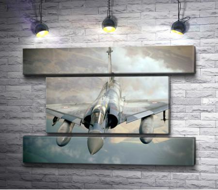 Истребитель Dassault Mirage в небе