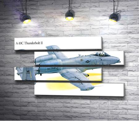 Самолет штурмовик A-10