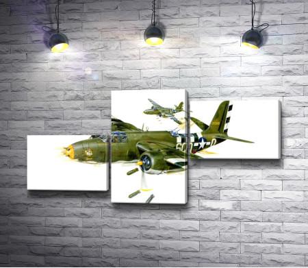 Легкий бомбардировщик Douglas A-20 Havoc