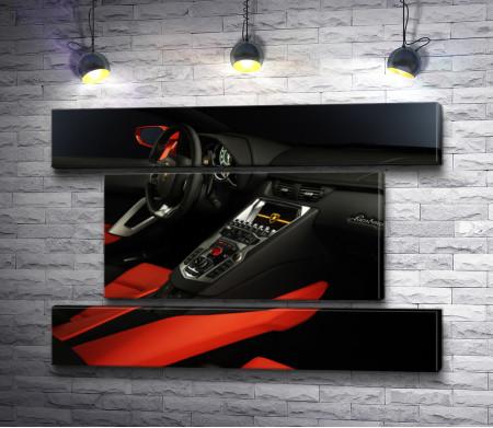 Салон Lamborghini Aventador