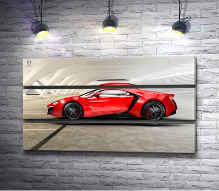 Красная машина-купе