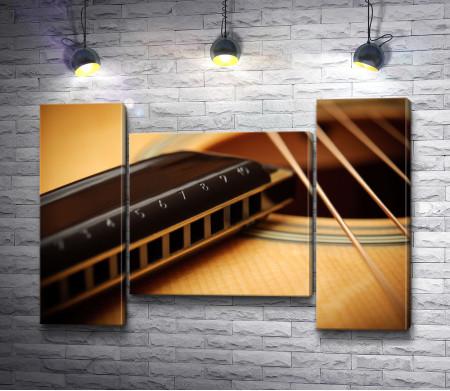 Струны акустической гитары