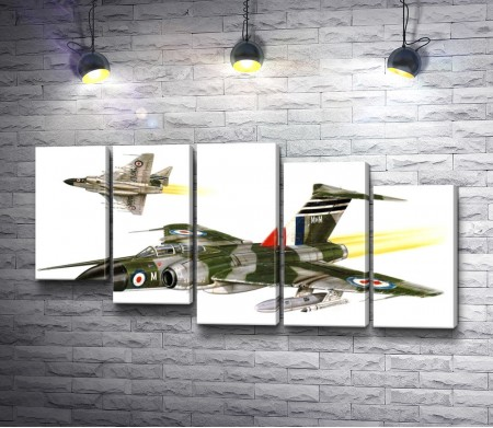 Истребители Javelin FAW.Mk 9R