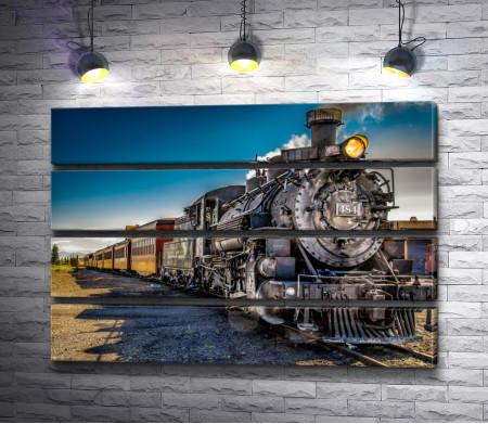 Ретро локомотив 484