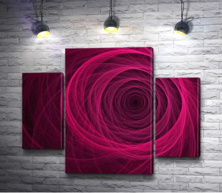 Роза цвета фуксия