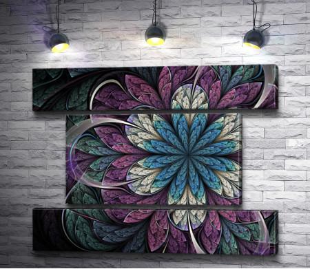 Дизайнерский абстрактный цветок
