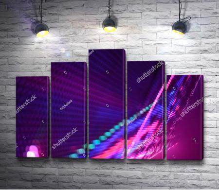 Пурпурная абстракция