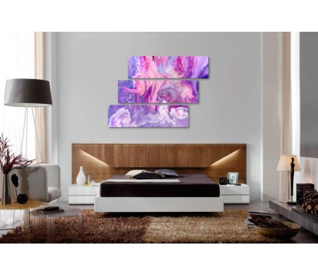 Фиолетовый мрамор