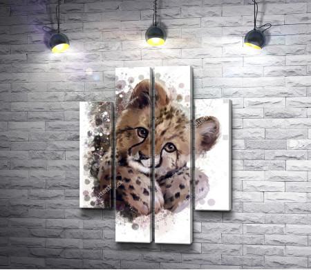 Детеныш льва