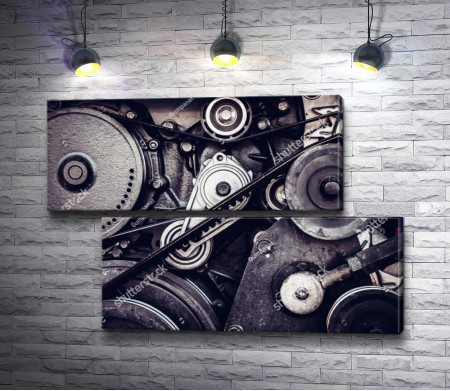 Механизм двигателя