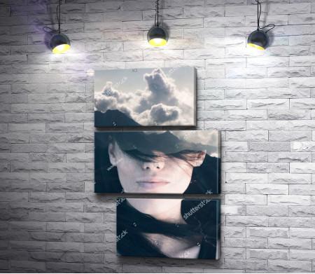 Женщина с небом на голове